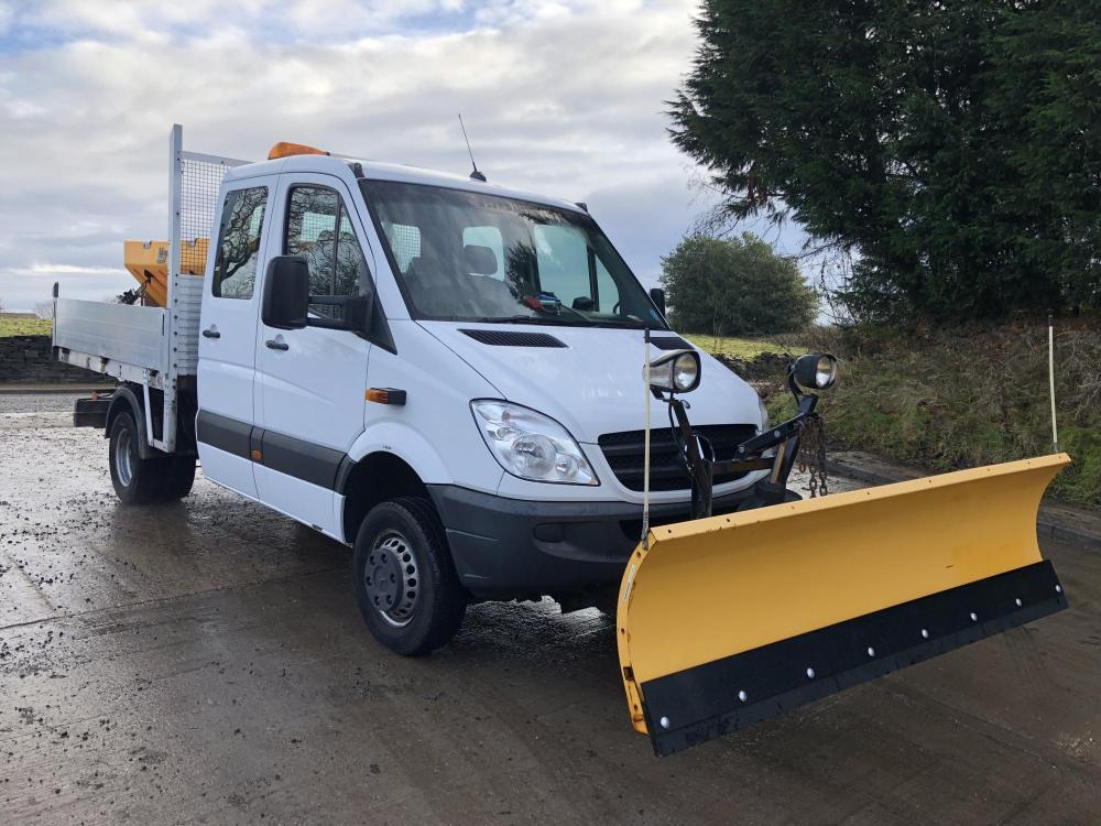 4X4 Van For Sale >> MERCEDES sprinter 516 4x4 for Sale - DC Commercials UK Ltd