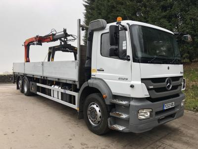 Mercedes Axor 2529 Bluetech 5