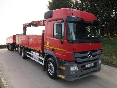 MERCEDES ACTROS 2546 + TRAILER