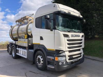 SCANIA R500 V8 6X2 DRAWBAR