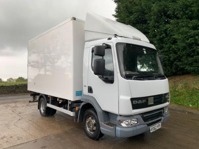 DAF LF 45.160 EEV MEAT RAILS